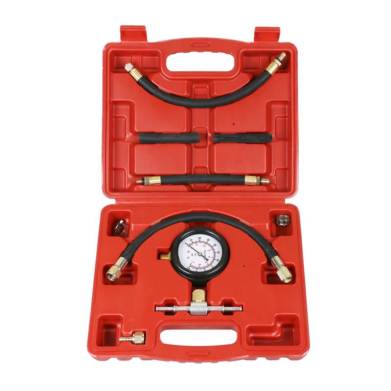 diagnostic tool gasoline fuel injection Test instrument Fuel Injection Pump Injector Tester Pressure Gauge Test 0-100psi classic 7 in 1 motorcycle repair diagnostic tool rmt 7 in 1 support electronic fuel injection motorcycles