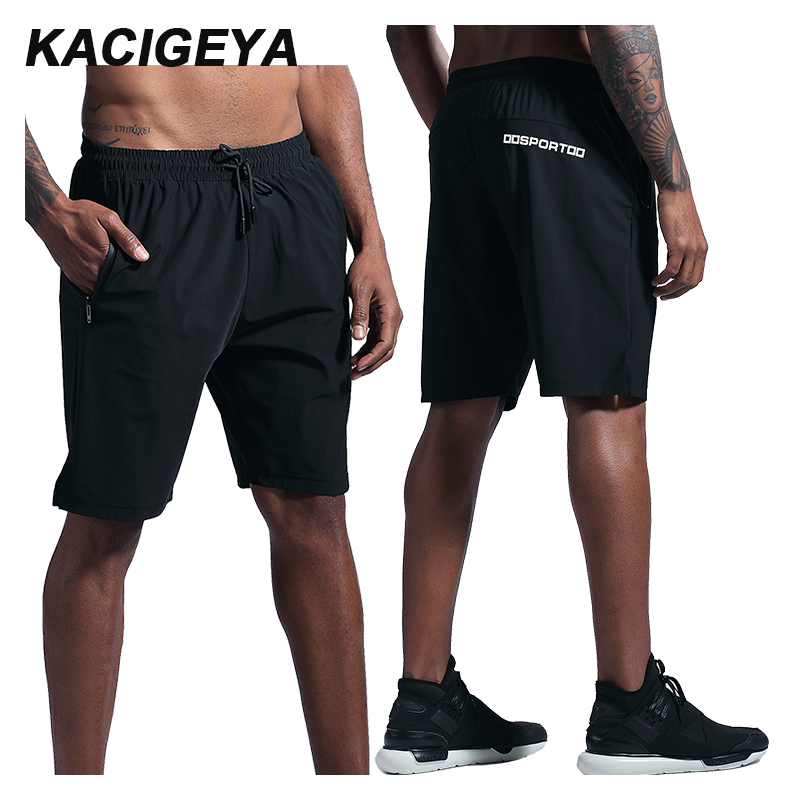 Quick Drying Shorts Training Soccer Tennis Workout Gym Shorts Breathable Running Outdoor Cycling Jogging Elastic Shorts 2019 Men