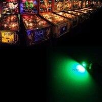PA LED 10PCS X Pinball LED 6 3v AC DC Machine Bulb Light T10 W5W 555