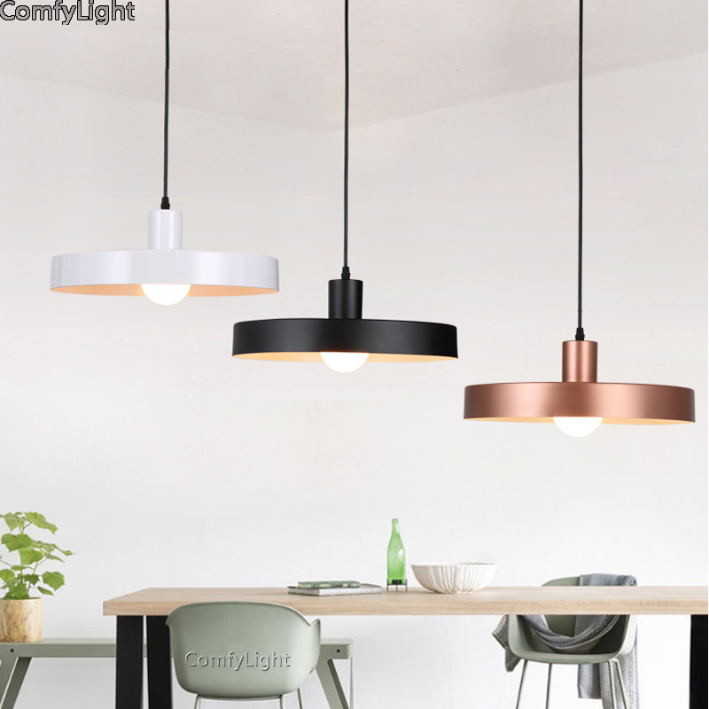 Nordic Led Pendant Light Denmark Home Foyer Modern Hanging