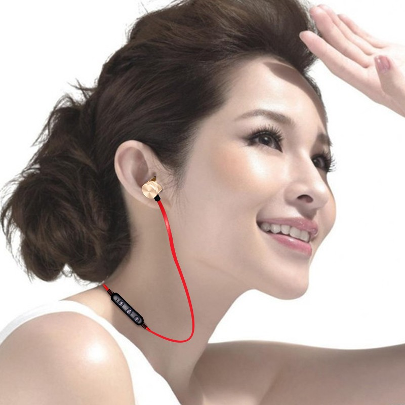 Bluetooth Earphones Sporting Running Wireless Earphone Earpiece In-Ear In-Line Control Earbud For Mobile Phone MP3 MP4 Player (3)