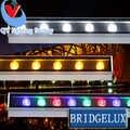 4 pièces/lotFedexDHL 36 W rouge vert bleu rvb blanc chaud mur LED rondelle lumière mur LED rondelle lampe projecteur d'inondation carré