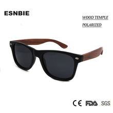 ESNBIE New High Quality Wood Sunglasses Polarized Lens Men Women Driving Glasses Colored Lens Driving Eyewear Female Shades