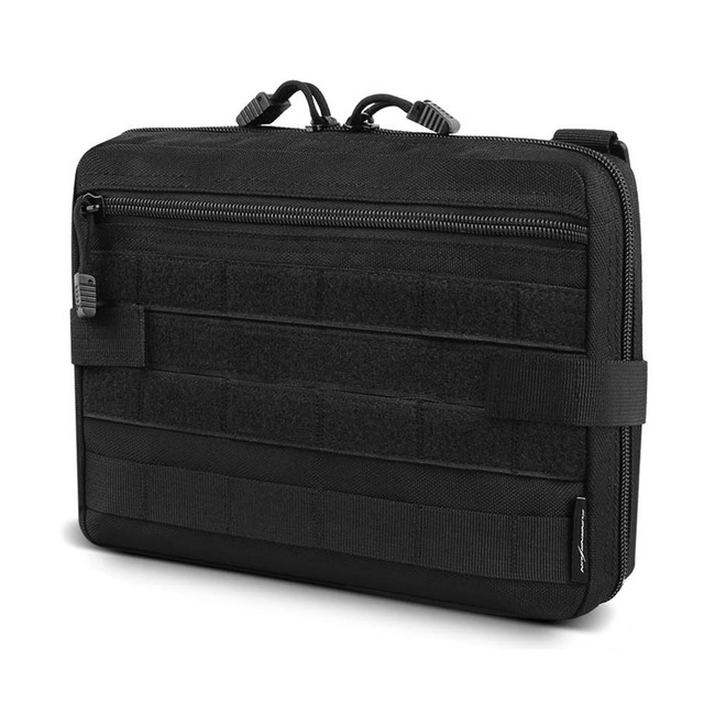 Tactical Admin Molle Pouch EDC EMT Utility Bag Compact Water-Resistant Pouches Multi-Purpose Tool Accessary Packs