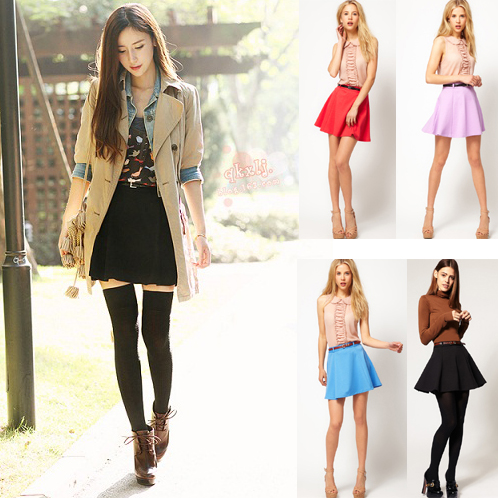 New Casual Skirt For Women 2014 Fashion Bust Skirt Sweet High ...