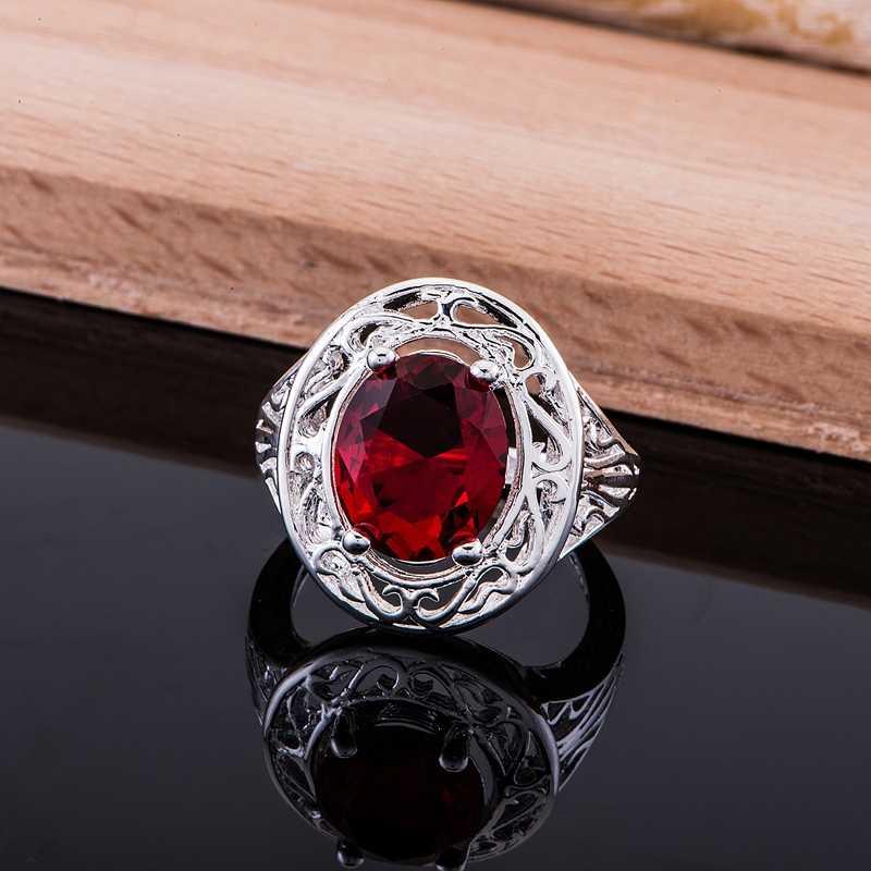 Новое поступление 2016 года, бесплатная доставка, модное серебряное кольцо с покрытием из серебра для женщин и мужчин, покрытие из серебра/камня/aqnajhua cctakuaa