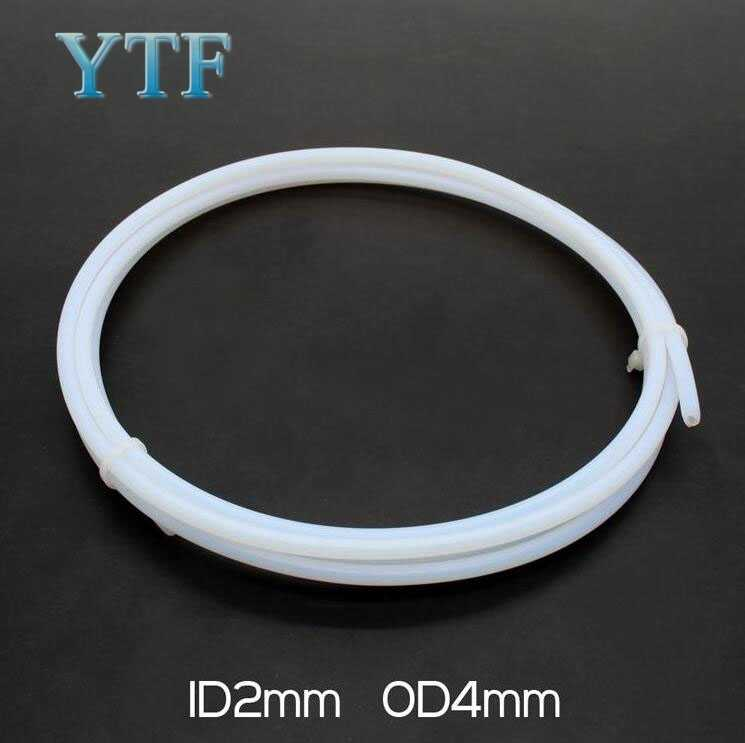 3D Printer Bagian Remote Spray Nozzle Feed Tape Tabung PTFE Tabung Susu 2/4 Mm 3/4 Mm 4/6 Mm