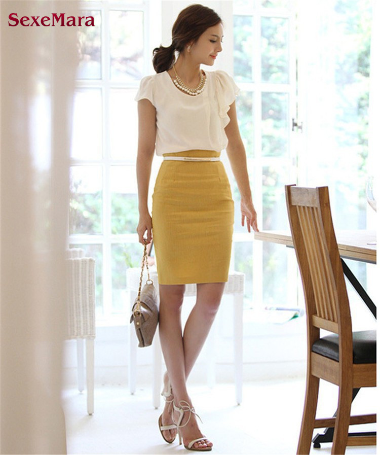 Compare Prices on Designer Pencil Skirts- Online Shopping/Buy Low ...