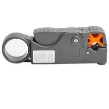 HT-332 Multifunción Coaxial Cable Stripper/Cortador Herramienta de Rotary Coaxial Stripper para RG59/6/58 Red