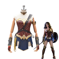 Wonder Woman Diana Prince Cosplay Batman Superman V Morgendämmerung der Gerechtigkeit Outfit Justice League Halloween Kostüme für Erwachsene