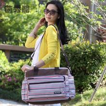 Free Shipping Fashion Strips Mutifunctional Baby Diaper Bags Waterproof Mummy  Bag Fashion Nappy Bags Mommy Bags For  Stroller