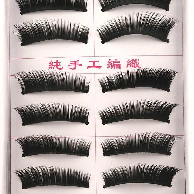 New 5 styles 10 pairs false eyelashes makeup beauty eyelash extension natural fake eyelashes for maquiagem makeup thick cilios 6