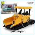 Г-н Froger KDW Diecast Models Scale Cars 1:43 Металла RC Грузовиков игрушки Для Детей Асфальтоукладчик Классический Сплав Модель Автомобиля Коллекционные Детей подарок