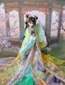 31 cm Dinastia Tang Xue Tao 12 Boneca Articulada Artesanal High-end Traje chinês Limitada Coleção de Bonecas Bjd 1/6 Boneca de Presente Da Menina brinquedos