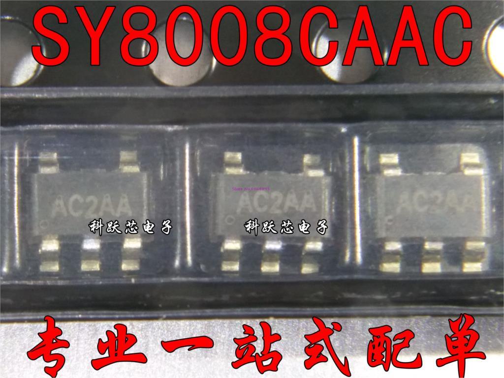50pcs/lot SY8008CAAC SY8008C SY8008 AC3HA SOT-23-5 In Stock