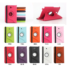 Hot Smart Cover 360 Rotate Leather Sleep Case Bag Book Slim Folding Rotating Stand Case for Samsung Galaxy Note 8.0 N5100 N5110