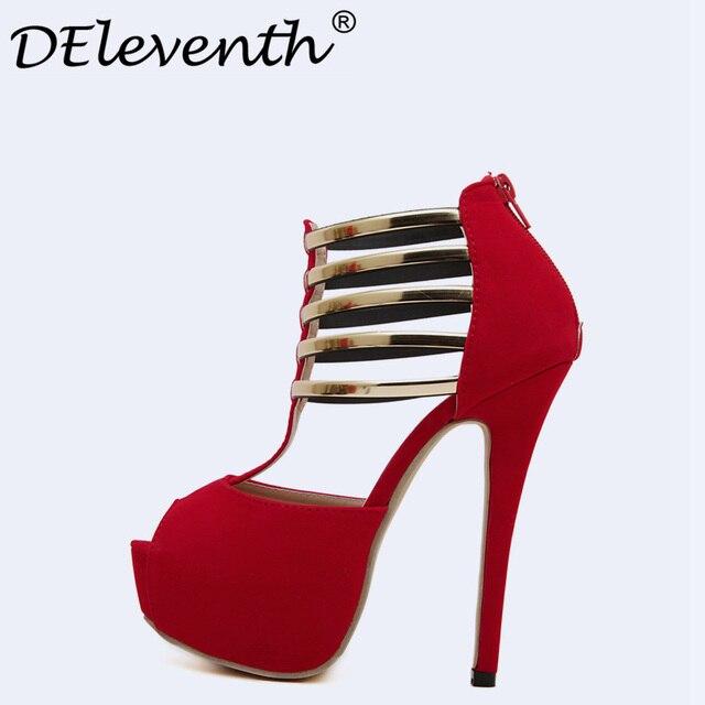 Fashion Solid scarpe Platform Donna Sandalos Summer scarpe Solid Peep Toe Rome 2170c8