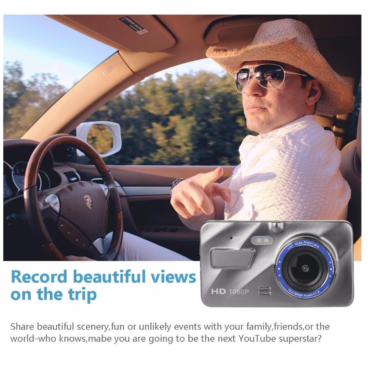 Dash Cam New Dual Lens Car DVR Camera Full HD 1080P  5