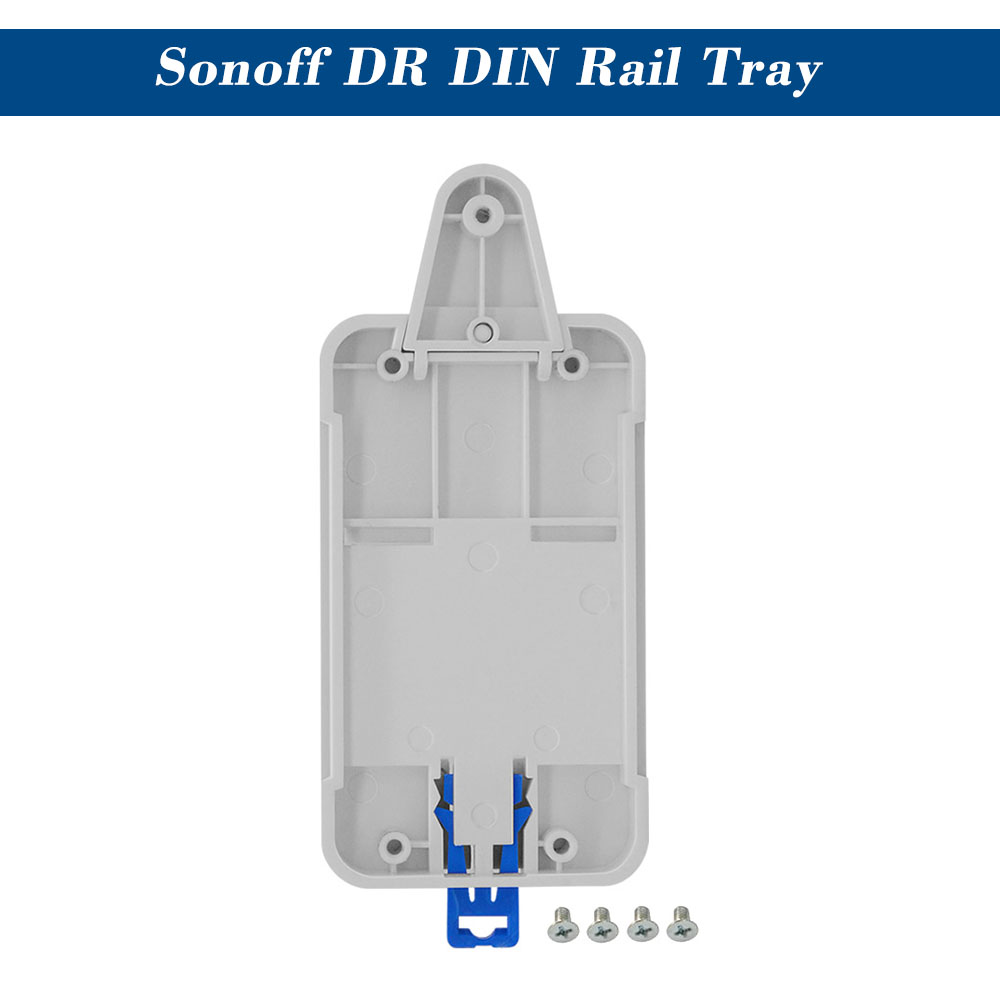 Access Control Kits Official Website Sonoff Dr Din Rail Tray Itead Adjustable Mounted Rail Case Holder Solution For Sonoff Switch Mounted Onto The Guide Track Kit Security & Protection