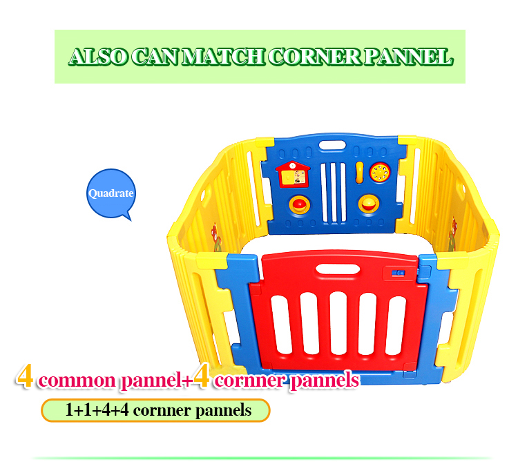 Game fence baby crawling security fence child multifunctional game house baby plastic fence game