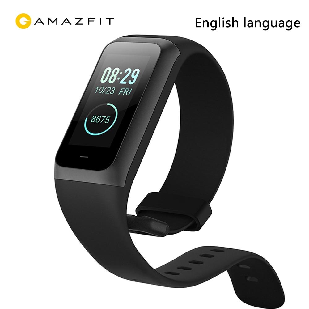 Nouveau Original xiaomi Huami Amazfit bande 2 cor 2 5ATM étanche Smartband 15 jours en veille bracelet pour téléphone xiaomi huawei
