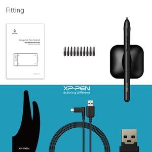 Image 5 - XP עט כוכב 06 גרפיקה ציור Tablet עם 8192 רמות לחץ Sensivity שני קוויות ואלחוטי מצב עיצוב עם רולר מפתח