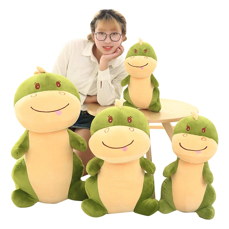 1pc 50-80cm Cute Dinosaur Plush Toys Lovely Cartoon Animal Dolls for Kids Children Staffed Animal Dragon Toys Soft Pillow