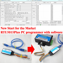 USB PC programmer with software for RTU5015 Plus gsm controller(China (Mainland))