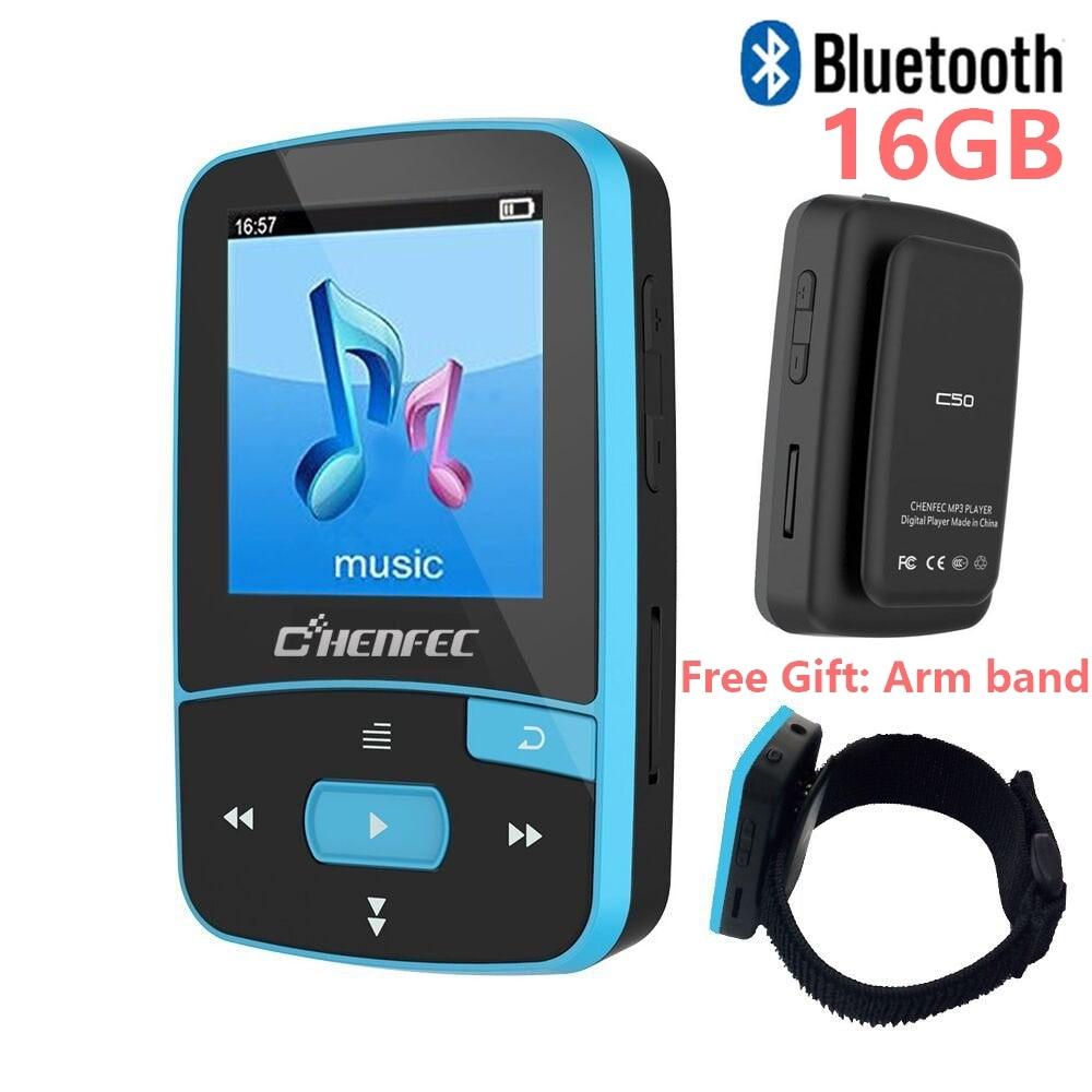 Izvorni CHENFEC C50 Mini Sport Clip Bluetooth mp3 player glazbeni - Prijenosni audio i video - Foto 2