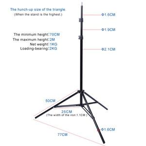 Image 4 - Софтбокс для фотостудии с держателем E27, 50x70 см, складной зонт, Легкая Лампа 150 Вт 5500K светильник подставкой, набор для непрерывного освещения
