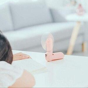 Image 5 - Mini ventilateur portatif portatif beau petit ours Usb pliable polyvalent ventilateur extérieur Rechargeable ventilateur de bureau pour la maison