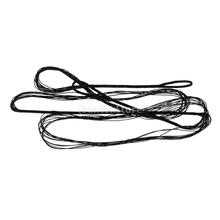 """Accessoires de tir à l'arc noir Cordes d'arc Cordes d'arc pour arc arc classique - Diverses tailles, 48 """"- 68"""""""
