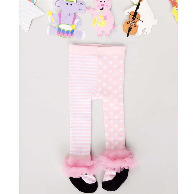 新しいタイツソフト女の子ストッキング子供春秋タイツ綿女の子ニットタイトな新生児服