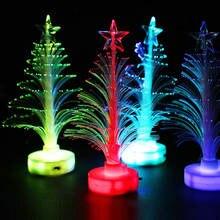 Новая Рождественская елка меняющая цвет световые игрушки украшение
