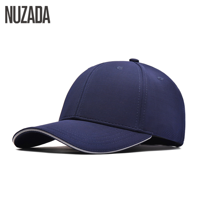 Brand NUZADA Winter Autumn Snapback High Quality Cotton Process Baseball Caps For Men Women Simple Hip Hop Cap Cotton Bone brand nuzada snapback summer baseball caps for men women fashion personality polyester cotton printing pattern cap hip hop hats