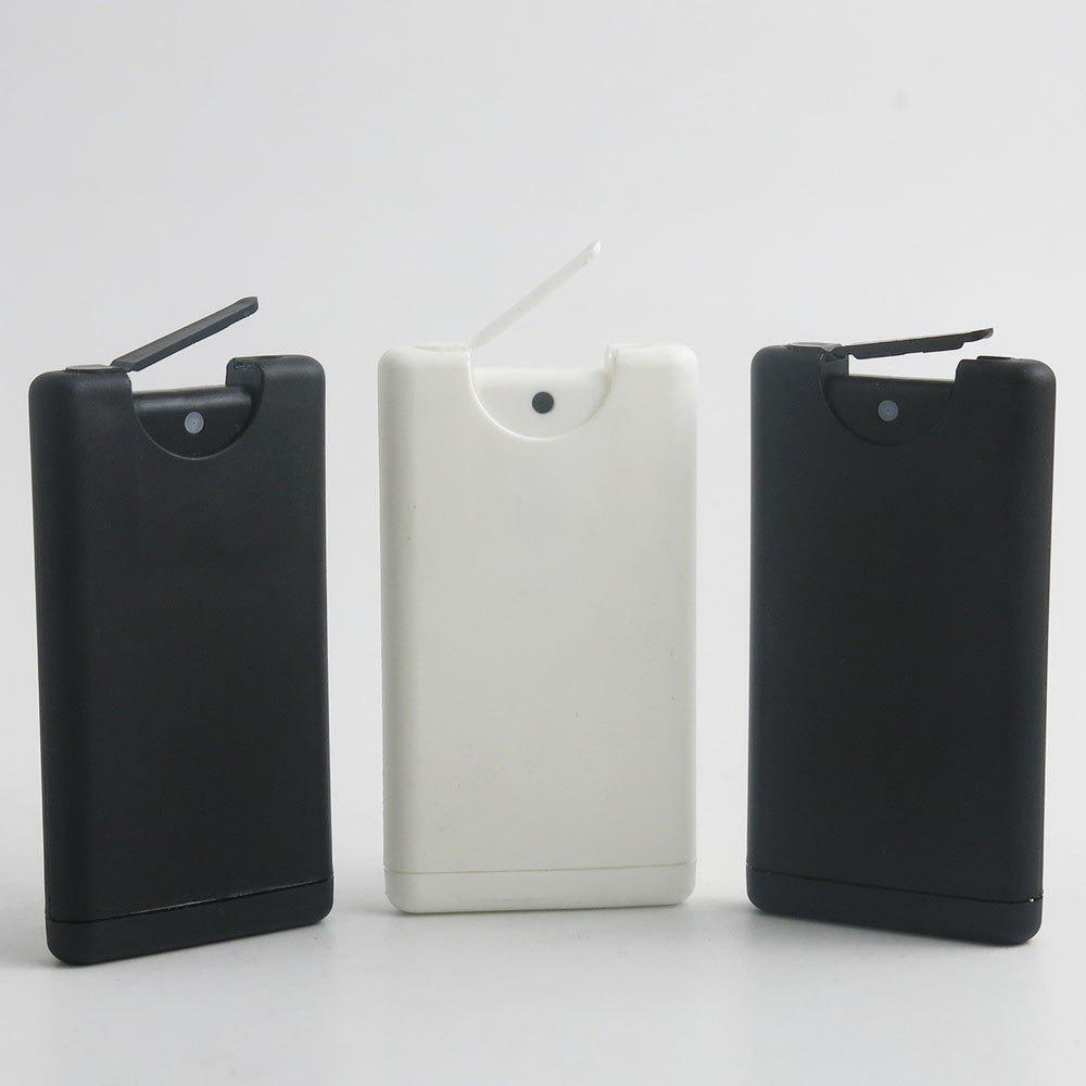 2 X 15ml White Plastic Perfume Bottle With Sprayer 15cc Empty Plastic Atomizer Cosmetic Container 1/2 Oz Card Refillable Bottle