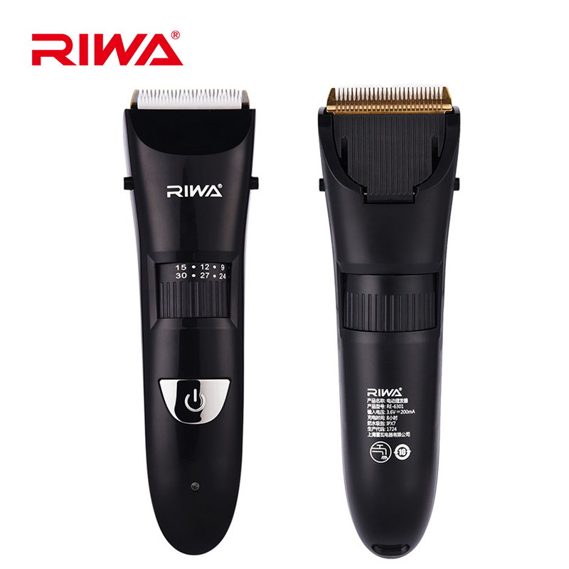2018 IPX7 Professional Clipper Hair Trimmer Barber Titanium Ceramic Blade Men Haircut Tools Hair Cutting Machine Low noise P50 rechargeable hair trimmer clipper men electric barber cutter cutting machine haircut shaving razor ceramic titanium blade 4 comb