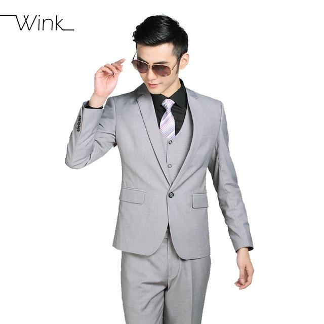 (Куртка + Брюки + Галстук) мужчины Бизнес Фрак Тонкий специальной установки Смокинг Формальный Пиджак Модный Бренд Мужской Свадебные Костюмы Для Мужчин 18 Стилей