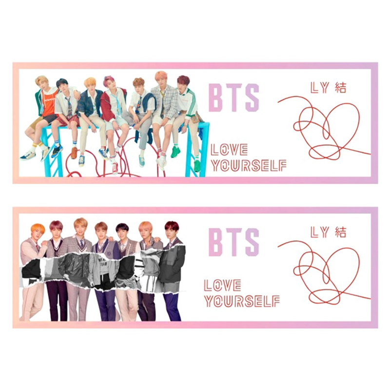 Kpop Bts Love Yourself Tear Concert Airport Fabric Banner Bangtan Boys Hang Up Poster Fans Gift Jewelry Findings & Components