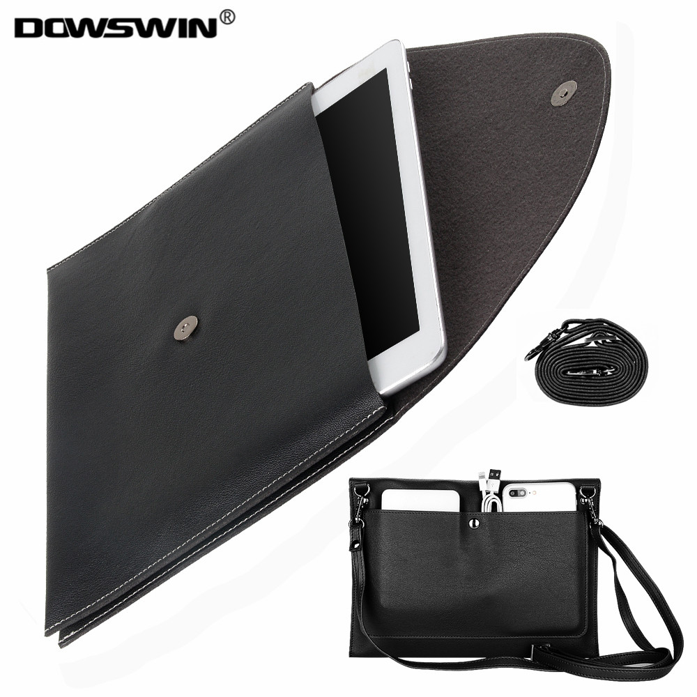for iPad 9.7' case.Dowswin pu leather Tablet Sleeve Pouch Bag for ipad air 9.7' air 2 for new ipad 9.7 soft protector for ipad 5 for new ipad 9 7 inch 2018 a1954 a1893 pu leather sleeve slim cover pouch bag sleeve bag case for ipad air 1 2 9 7 2017 tablet