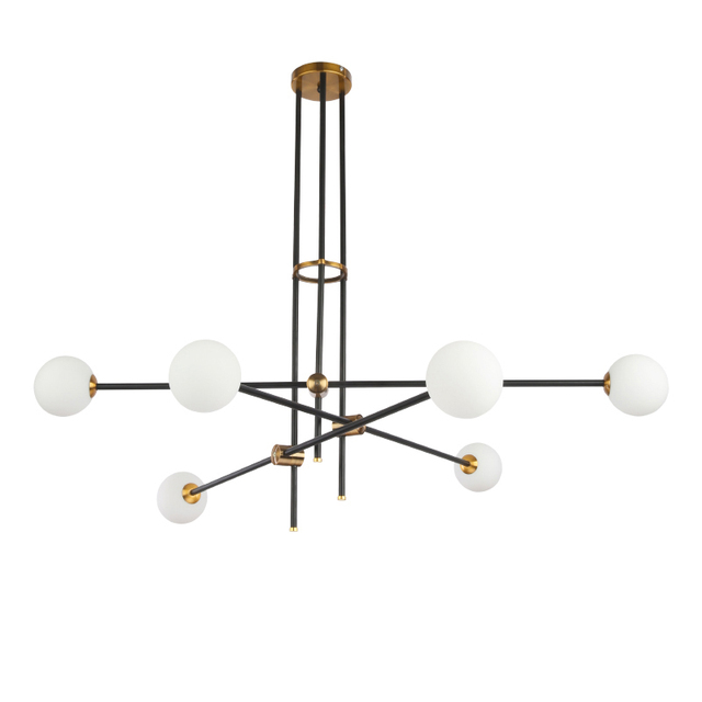 Post modern pendant lamp unfold 6 arm simple suspendsion light adjustable arm fixture e27 lamp ac220v bedroom dining living room in pendant lights post modern pendant lamp unfold 6 arm simple suspendsion light adjustable arm fixture e27 lamp ac220v mozeyp Images