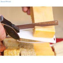 Sweettreats Acero Inoxidable Tijeras de Cocina Multifunción Verduras y Carnes de Pan Slicer Cortador