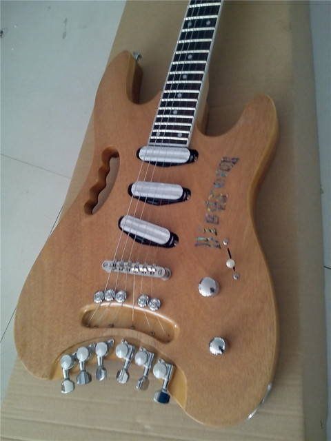 Custom Handmade Quality headless electric guitar 2