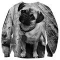 Fashion Sweatshirt Galaxy Hoodies Harajuku Mens/Women Tracksuits Crewneck Sweatshirt 3D Cute Puppy Animal Hemp Pullover Hoodies