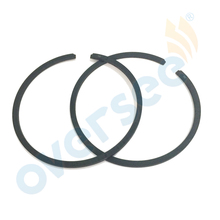 350 00014 0 Piston Ring Set 60mm 050 For Tohatsu Nissan 18HP Outboard Engine boat motor