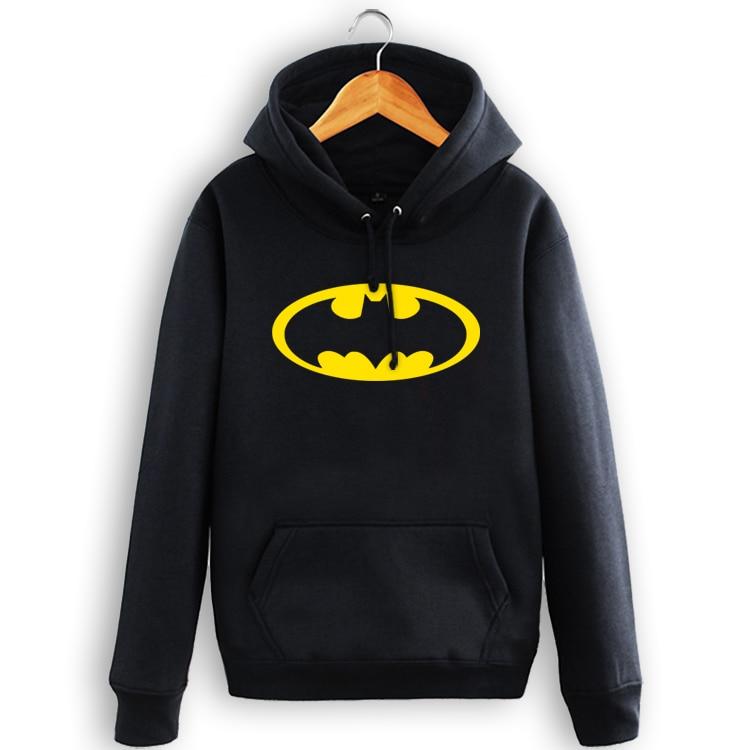 High-Q Unisex cotton The Dark Knight Batman pullover hoodie jacket coat Hoodies Batman joker Hoodies Sweatshirts jacket coat