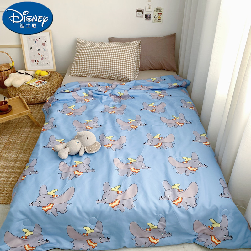 Disney Dumbo Blankets Holiday blanket Thin quilt Girls Boy's Children's Kids Bed Home Bedroom Decoration Flannel image