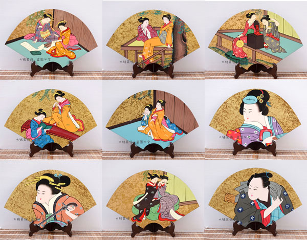 Decoration Arts crafts girl gifts get married Japan Japanese lacquer handicraft craft ornaments table decoration painting painti
