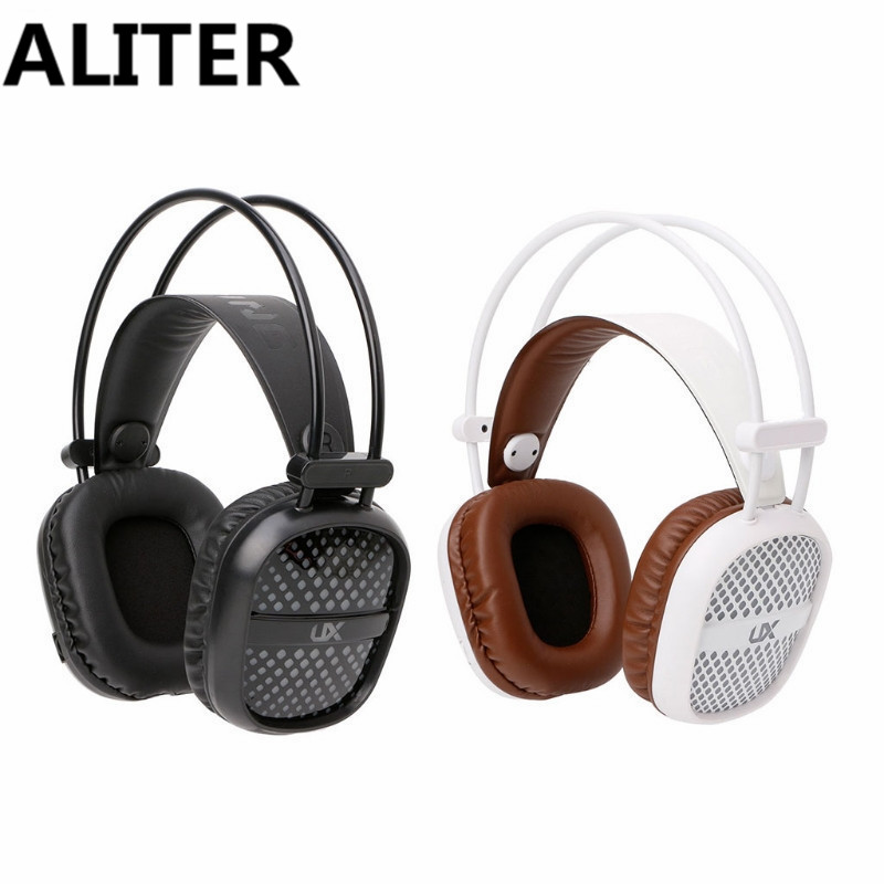 ALITER Deep Bass Stereo Headphone LED Light Gaming Headband Headset For PC Cool Design