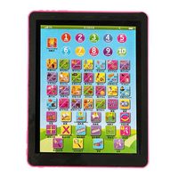 Cute Tablet Pad Computer For Kid Children Smart Learning English Educational Teach Toys 8 Different Learning Modes Early Study